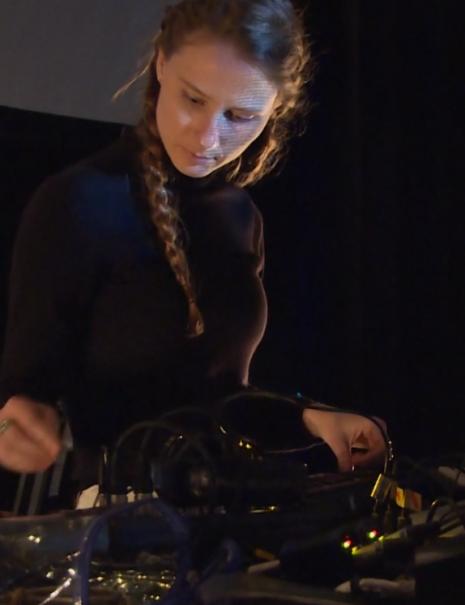Kara-Lis Coverdale - Techno Musician