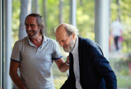 Paul Hegeman reist af naar Estland om Het Pärt gevoel in het Arvo Pärt Centre te presenteren